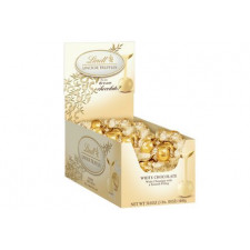 SweetGourmet Lindt LINDOR White Chocolate Truffles, 60ct