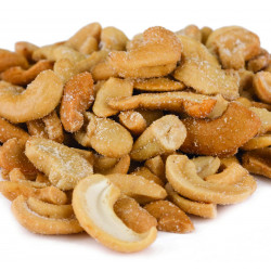 SweetGourmet Nut Cashew Pieces Large (Roasted & Salted)