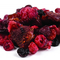 SweetGourmet Dried Mixed Berries Strawberry-Cranberry-Blueberry-Cherry