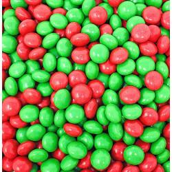 SweetGourmet Richardson Christmas Gourmet Chocolate Mints, Red & Green