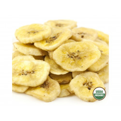 SweetGourmet Banana Chips Sweetened, Organic