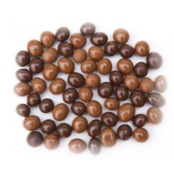 SweetGourmet Chocolate Espresso Beans Mix - Milk & Dark Chocolate