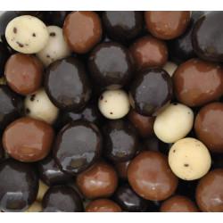 SweetGourmet Chocolate Espresso Beans Blend - White, Milk & Dark Chocolate