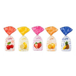 SweetGourmet Arcor Assorted Fruitfuls Sachet Fruit Filled Bon Bons Candy-Bulk