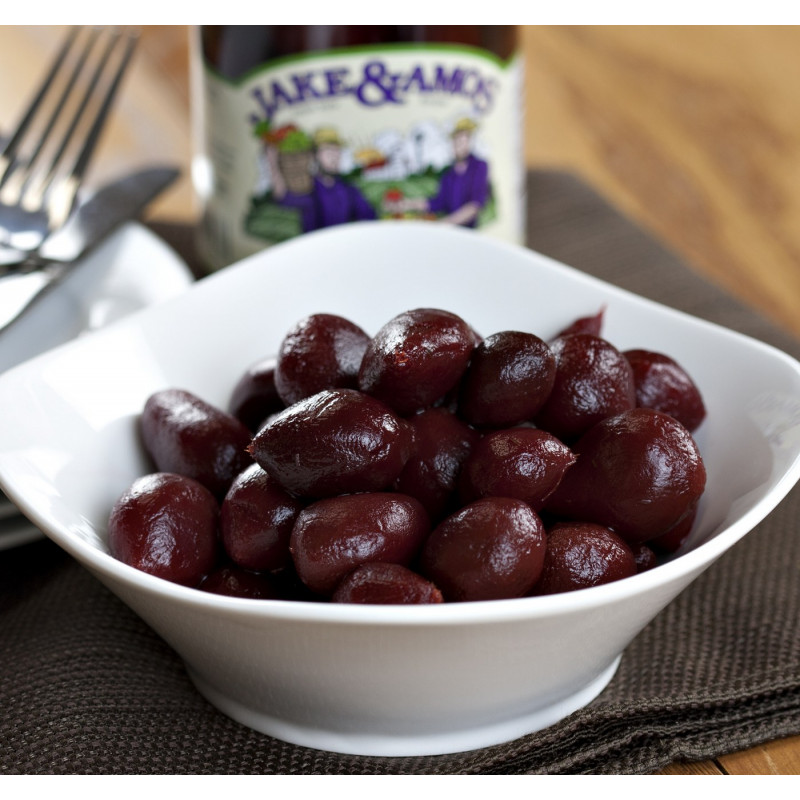 SweetGourmet Jake & Amos® J&A Pickled Sweet Tiny Beets 12/16oz