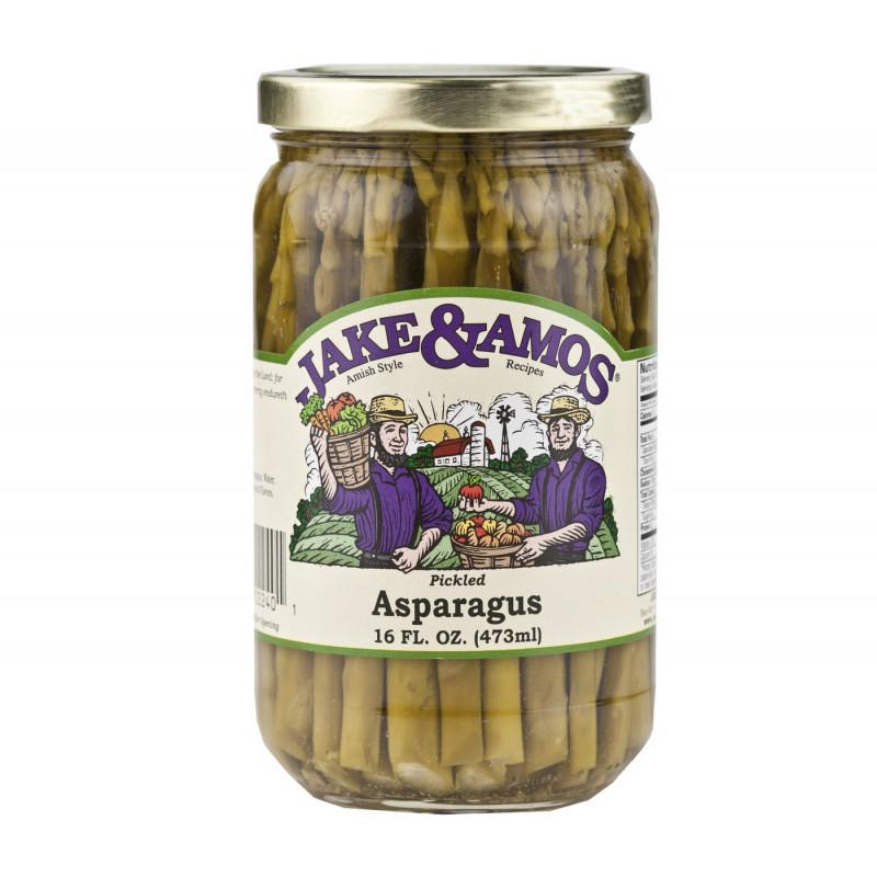 SweetGourmet Jake & Amos® J&A Pickled Asparagus 12/16oz