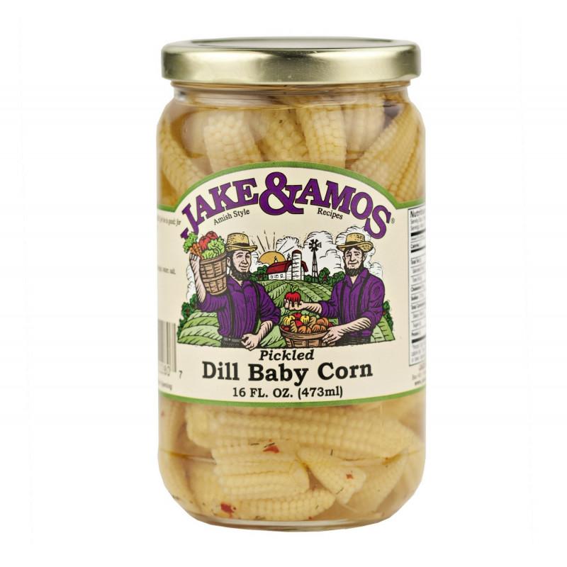 SweetGourmet Jake & Amos® J&A Dill Baby Corn 12/16oz