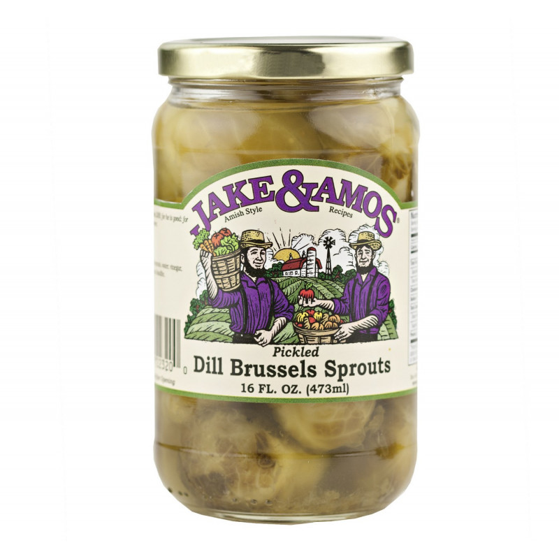 SweetGourmet Jake & Amos® J&A Dill Brussels Sprouts 12/16oz