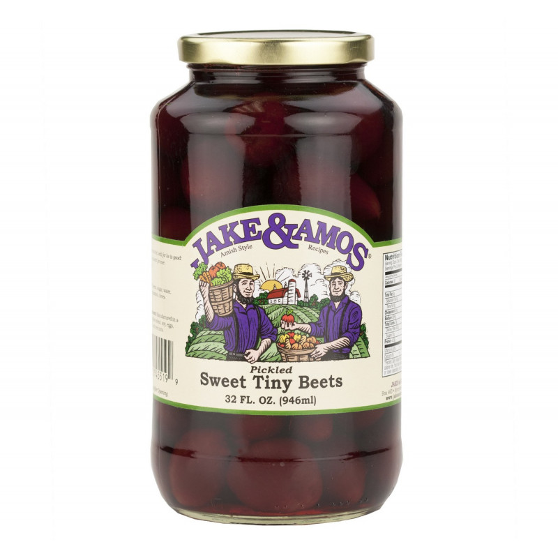 SweetGourmet Jake & Amos® J&A Pickled Sweet Tiny Beets 12/32oz