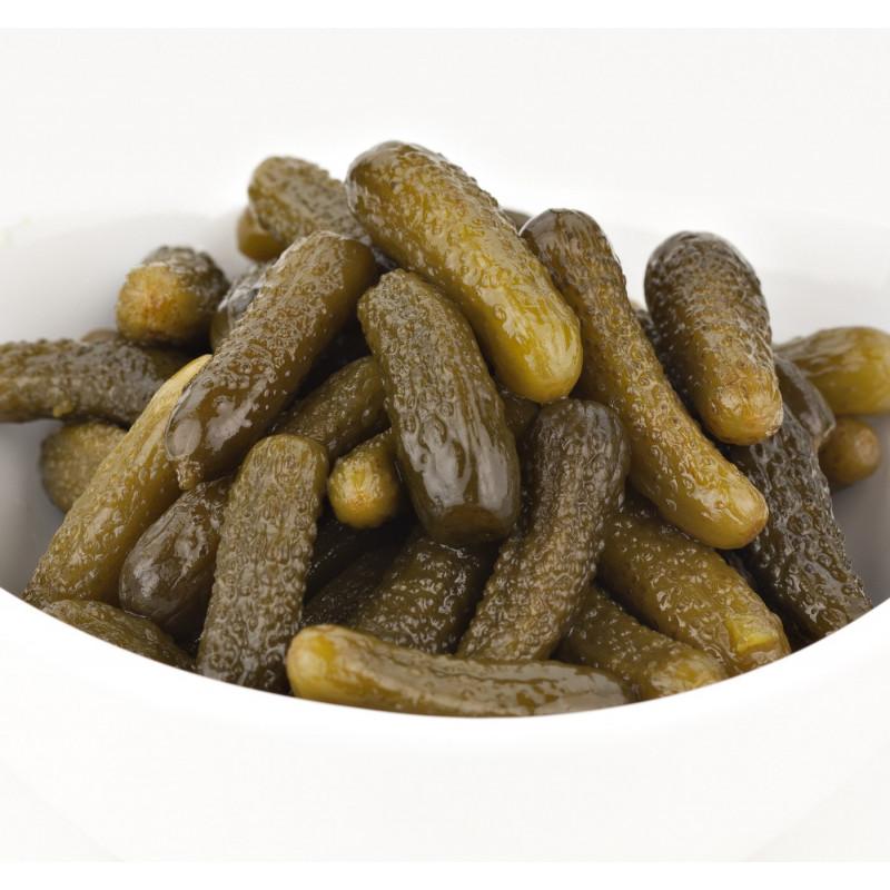 SweetGourmet Jake & Amos® J&A Sweet Midget Pickles 12/16oz